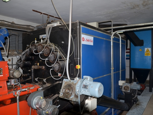 Climatización con Biomasa